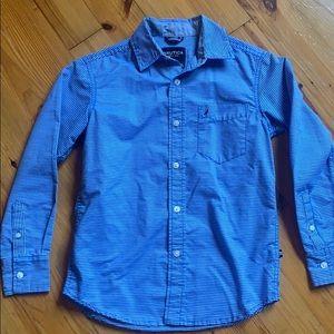 Nautica button down shirt Youth Small
